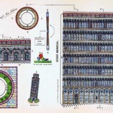Coleccionismo Recortables: RECORTABLES SERIE MUNDIAL. VIRGILI LUIS ESTEBAN TORRE DE PISA CON-BEL CON BEL, 1990. Lote 191342778