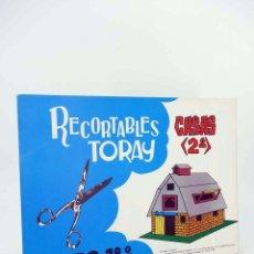 Coleccionismo Recortables: RECORTABLES TORAY GRUPO 18 CASAS II 121 A 128. LIBRO 16 LÁMINAS (BEAUMONT) TORAY, 1962. OFRT. Lote 99653484