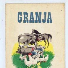 Coleccionismo Recortables: GRANJA SERIE B Nº6 CONSTRUCCIONES RECORTABLES. EDICIONES LA TIJERA, 1958. Lote 177617002