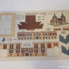 Coleccionismo Recortables: RECORTABLE DE LOS AÑOS 40 DEL AYUNTAMIENTO DE MADRID. EDIFICIO DE ESPAÑA. A. ROMERO DE CIDON. Lote 115735819