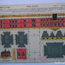 Coleccionismo Recortables: RECORTABLE LA TIJERA SERIE Nº5.PALACIO Nº 48. Lote 116070439