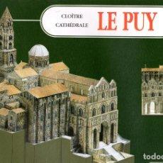 Coleccionismo Recortables: RECORTABLE CATEDRAL DE LE PUY (FRANCIA). 1997. Lote 116563867