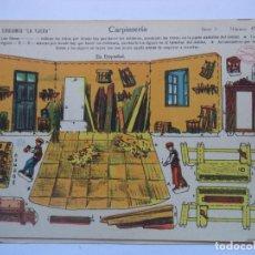 Coleccionismo Recortables: LA TIJERA.SERIE 5.Nº 47.CARPINTERIA.. Lote 116759059