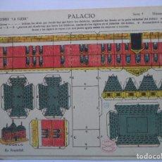 Coleccionismo Recortables: LA TIJERA.SERIE 5.Nº 48.PALACIO.. Lote 116759235
