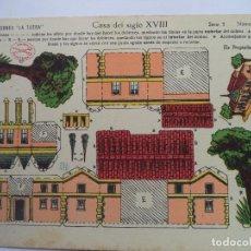 Coleccionismo Recortables: LA TIJERA SERIE 5.Nº 65.CASA DEL SIGLO XVIII. Lote 116909823