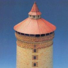 Coleccionismo Recortables: RECORTABLE DE LA TORRE SPITTLER EN NUREMBERG (ALEMANIA). . Lote 117338135