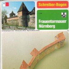 Coleccionismo Recortables: RECORTABLE MURALLAS DE NUREMBERG (ALEMANIA) 1996. Lote 117338543