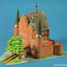 Coleccionismo Recortables: RECORTABLE CASTILLO DE KONRADSHEIM (ALEMANIA) 1990. Lote 117338951