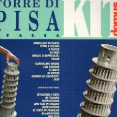 Coleccionismo Recortables: RECORTABLE TORRE INCLINADA DE PISA . ITALIA 1983. Lote 118083939