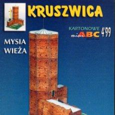Coleccionismo Recortables: RECORTABLE TORRE KRUSZWICA. POLONIA. Lote 118105147