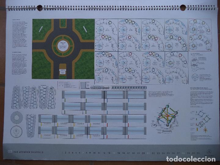 Coleccionismo Recortables: ESPECTACULAR CALENDARIO CON 11 RECORTABLES DE OTROS TANTOS MONUMENTOS EUROPEOS PUBLICADO POR MERCEDE - Foto 3 - 118532567