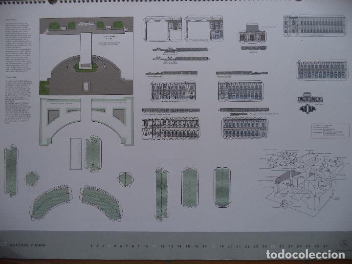 Coleccionismo Recortables: ESPECTACULAR CALENDARIO CON 11 RECORTABLES DE OTROS TANTOS MONUMENTOS EUROPEOS PUBLICADO POR MERCEDE - Foto 7 - 118532567
