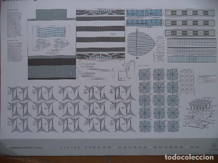 Coleccionismo Recortables: ESPECTACULAR CALENDARIO CON 11 RECORTABLES DE OTROS TANTOS MONUMENTOS EUROPEOS PUBLICADO POR MERCEDE - Foto 11 - 118532567