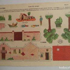 Coleccionismo Recortables: LA TIJERA SERIE 10 CASA DE CAMPO Nº 4. Lote 118698191