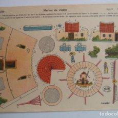 Coleccionismo Recortables: LA TIJERA SERIE 10 MOLINO DE VIENTO Nº 3. Lote 118698263