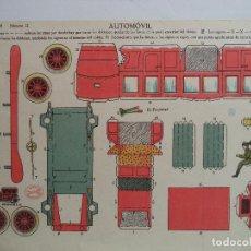 Coleccionismo Recortables: LA TIJERA SERIE 10 AUTOMOVIL Nº 12. Lote 118877671