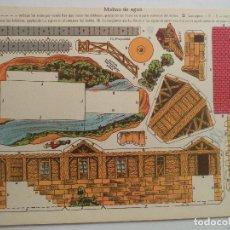 Coleccionismo Recortables: LA TIJERA SERIE 10 MOLINO DE AGUA Nº 30. Lote 118877795
