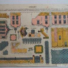 Coleccionismo Recortables: LA TIJERA SERIE 10 CHALET Nº 28 . Lote 118877899