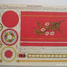Coleccionismo Recortables: LA TIJERA SERIE10 BOMBO DE BARQUILLERO Nº 27. Lote 118878027