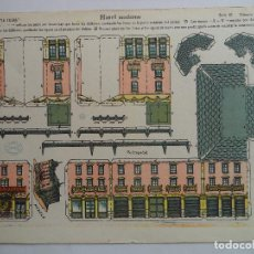 Coleccionismo Recortables: LA TIJERA SERIE 10 HOTEL MODERNO Nº 35. Lote 118878595