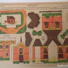 Coleccionismo Recortables: LA TIJERA SERIE 10 HOTELITO Nº 209. Lote 119000235