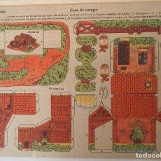 Coleccionismo Recortables: LA TIJERA SERIE 10 CASA DE CAMPO Nº 206. Lote 119000479