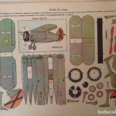 Coleccionismo Recortables: LA TIJERA SERIE 10 AVION DE CAZA Nº 253. Lote 119000627
