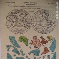 Coleccionismo Recortables: LA TIJERA SERIE 10 GEOGRAFIA Nº 4. Lote 119106619