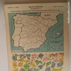 Coleccionismo Recortables: LA TIJERA SERIE 10 GEOGRAFIA Nº 5. Lote 119107323