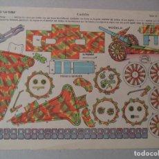 Coleccionismo Recortables: LA TIJERA SERIE 10 CAÑON Nº260. Lote 119210659
