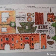 Coleccionismo Recortables: LA TIJERA SERIE 10 EDIFICIO BELGA Nº 255. Lote 119211495