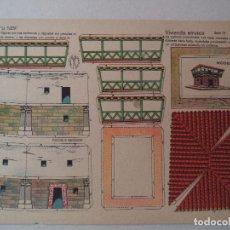 Coleccionismo Recortables: LA TIJERA SERIE 10 VIVIENDA ETRUSCA Nº 259. Lote 119211715