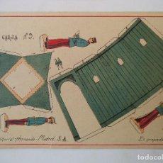 Coleccionismo Recortables: RECORTABLES HERNANDO Nº 9 GARITA. Lote 119260983