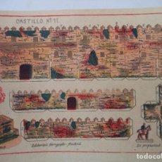 Coleccionismo Recortables: RECORTABLES HERNANDO Nº 11 CASTILLO. Lote 119261059