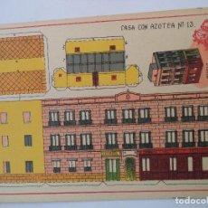 Coleccionismo Recortables: RECORTABLES HERNANDO Nº 13 CASA CON AZOTEA. Lote 119261211