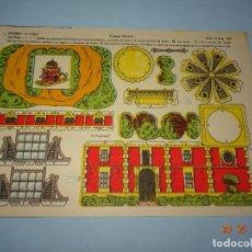 Coleccionismo Recortables: ANTIGUA LÁMINA CASA TURCA SERIE 10 Nº 202 RECORTABLE DE EDICIONES * LA TIJERA * AÑO 1930S. Lote 120155287
