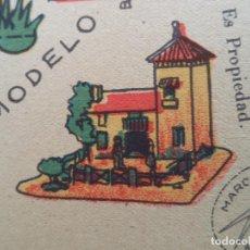 Coleccionismo Recortables: LA TIJERA SERIE 10 CASA DE CAMPO CON PALOMAR Nº 42. Lote 120886359