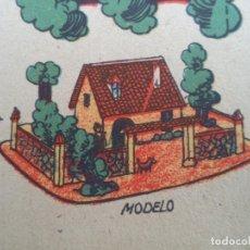 Coleccionismo Recortables: LA TIJERA SERIE 10 CASA RUSTICA CON PATIO Nº 53. Lote 120888251
