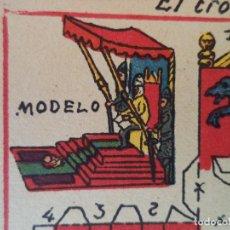 Coleccionismo Recortables: RECORTABLE HERNANDO EL TRONO DEL MEDICO Y EL REY CUENTOS DE LAS MIL Y UNA NOCHE Nº 78. Lote 121015983