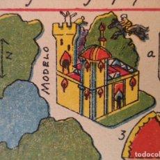 Coleccionismo Recortables: RECORTABLE HERNANDOEL CABALLO MAGICO A GALOPE POR LOS AIRES ..SOBRE EL PALACIO DEL REY Nº 80. Lote 121016511