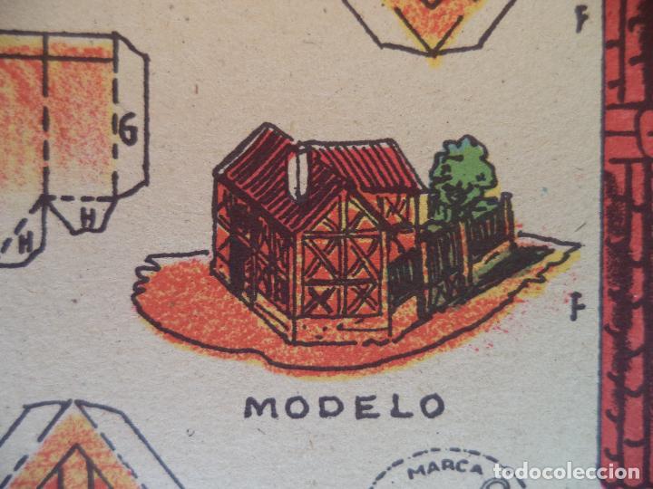 LA TIJERA SERIE 10 CASA BELGA Nº 70 (Coleccionismo - Recortables - Construcciones)