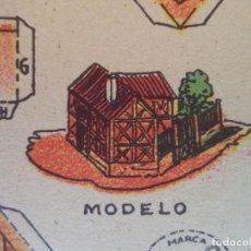 Coleccionismo Recortables: LA TIJERA SERIE 10 CASA BELGA Nº 70. Lote 121022215