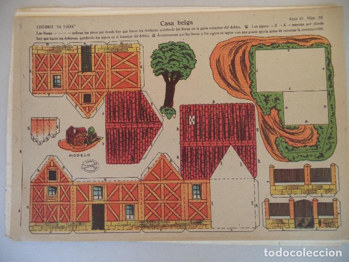 Coleccionismo Recortables: LA TIJERA SERIE 10 CASA BELGA Nº 70 - Foto 2 - 121022215