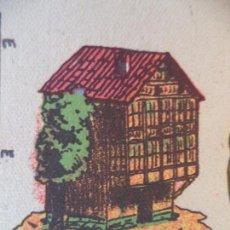 Coleccionismo Recortables: LA TIJERA SERIE 10 CASA SIGLO XV Nº 72. Lote 121022427