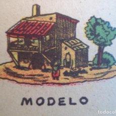 Coleccionismo Recortables: LA TIJERA SERIE 10 CASA RUSTICA Nº 78. Lote 121022691