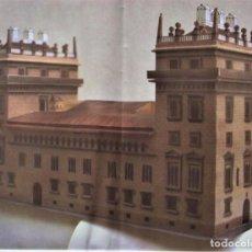 Coleccionismo Recortables: RECORTABLE PALACIO DE LA GENERALITAT DE VALENCIA.. 1988 GRAN FORMATO. Lote 121559451