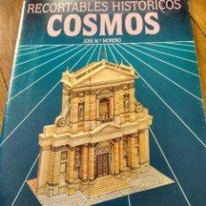Coleccionismo Recortables: LIBRO RECORTABLES HISTORICOS FACHADA DE STA SUSANA DE ROMA ED SALVATELLA. Lote 123134743