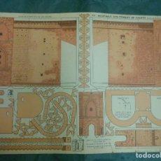 Coleccionismo Recortables: RECORTABLES GOYA - TORRES DE CUARTE VALENCIA Nº 3 - GOYA RECORTABLE. Lote 123378379