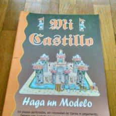Coleccionismo Recortables: RECORTABLE DE MI CASTILLO CON PERSONAJES YOLI DESIGNS. Lote 123453043