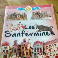 Coleccionismo Recortables: LIBRO DE RECORTABLE MAQUETAS SAN FERMIN EDICIONES SUSAETA. Lote 130214602